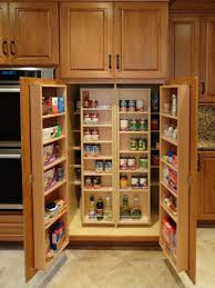 Furniture Kitchen Pantry Kitchen Pantry Cabinets With Glass Doors Consideration About The