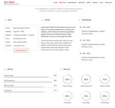 Resume Ideas Beauteous 28 Creative Resume Ideas To Stand Out Online