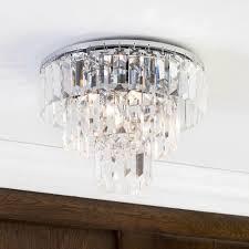 elegant 3 tier prism bar detail beautiful ceiling lighting