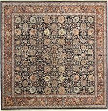 navy blue 12 x 12 kensington oriental square rug oriental rugs erugs