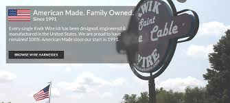 kwik wire electrify your ride auto restoration wiring kwik wire american made family owned