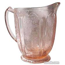 Pink Depression Glass Patterns Gorgeous Antique Depression Glass Glass Price Guide Antiques