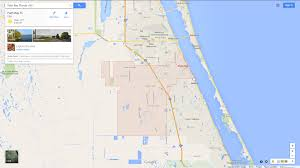 palm bay florida map
