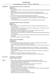 Front Desk Supervisor Resume Sample Front Office Supervisor Resume Samples Velvet Jobs 12