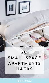 Making The Most Of A Small Bedroom 17 Best Ideas About Small Apartment Hacks On Pinterest Small