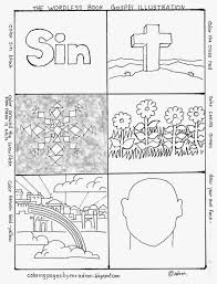 We believe that god is the loving father of all kids. Coloring Pages For Kids By Mr Adron Wordless Book Gospel Coloring Page Free