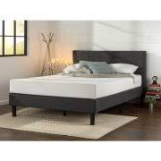 platform bed walmart. Zinus Upholstered Diamond Stitched Platform Bed With Wooden Slat Support, Multiple Sizes - Walmart.com Walmart A