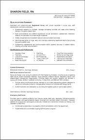 Free Rn Resume Samples Nurse Resume Template Free Download Manqal