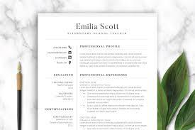 Tips for writing an effective resume teacher resume template & example Modern Teacher Resume Template Word Creative Resume Templates Creative Market