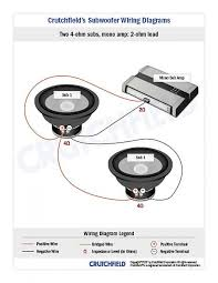wiring two subs to mono amp new tiburon forum hyundai in the other coils in series than you will have a 4 ohm circuit so just run the two 2 ohms or run one 12 parallel and get a lot more bass