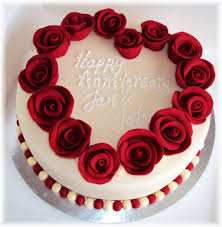 Ruby Anniversary Cakes Ruby Anniversary Cake By Clvmoore Ruby