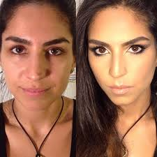 227 best makeup transformation images on makeup transformation power of makeup and rabbit