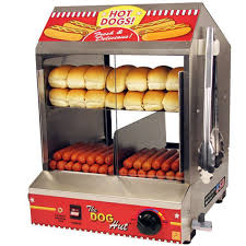 Hot Dog Vending Machines Mesmerizing Hotdog Steamer Machine 48 Hot Dog 48 Bun Warmer Vending Commercial