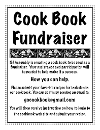 cookbook fundraiser recipe submission flyer scope of work cookbook fundraiser recipe submission flyer scope of work template