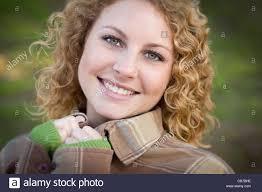 Blonde cute outdoor teen