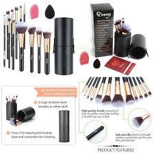 dels about qivange makeup brushes flat foundation blush eyeliner eyeshadow with ho