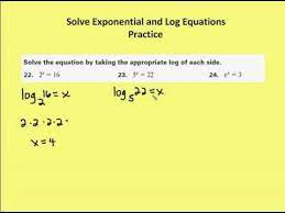7 6 solve exponential and log equations