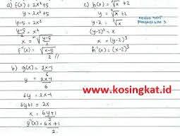 Matematika adalah salah satu mata pelajaran yang tidak banyak disukai banyak. Kunci Jawaban Matematika Kelas 10 Halaman 113 Uji Kompetensi 3 2 Kosingkat