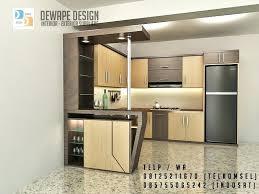 kitchen set design minimalis 2016 minibar copy
