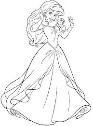 Little Mermaid Coloring Pages The Little Mermaid Coloring Page Print