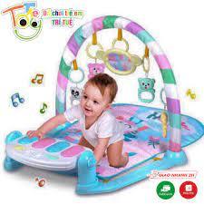 Thảm nằm chơi cho bé có nhạc, có đồ chơi treo Đồ Chơi Trẻ Em Trí Tuệ The  Toy - Thảm chơi nhạc
