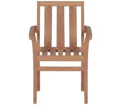 vidaxl stacking garden chairs 2 pcs