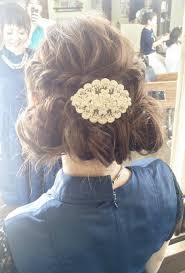 今旬ふんわりおしゃカワ今っぽカジュアルセット結婚式にもの髪型