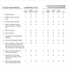 Surveys Questionnaires Examples 14 Student Survey Templates Pdf Doc Free Premium