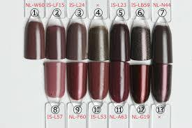 Opiネイル人気色比較秋冬ネイルにおすすめブラウン編 セルフネイル