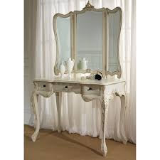 la rochelle antique french dressing table large
