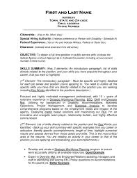 Resume Objectives Samples Job Objective Examples Of Resumes On For