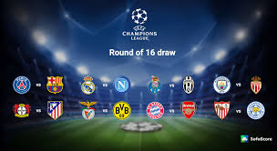 2016 17 uefa champions league round of 16 draw