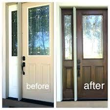 faux wood paint front door paint fiberglass door look like wood paint fiberglass front door coloring