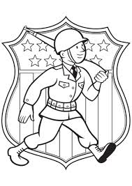 World War 2 American Soldier Coloring Page Free Printable Coloring