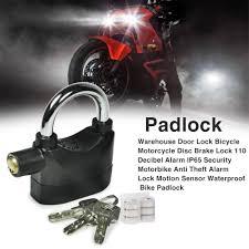 Warehouse Door Lock Waterproof <b>Bicycle Motorcycle Disc Brake</b> ...