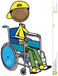 Boy Clipart Wheelchair Pencil And In Color Boy Clipart Wheelchair