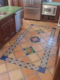 Floor Tile Kitchen Kitchen Remodel Using Mexican Tiles On Floor By Kristiblackdesigns