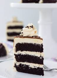 Chocolate Cake with Salted Caramel Frosting ChocolateforJoan