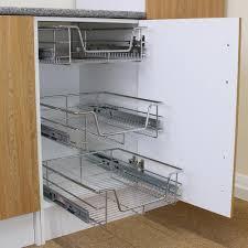 Kitchen Cupboard Storage Kitchen Pull Out Storage Ebay