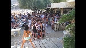Super Paradise Beach Mykonos Beach Party - YouTube