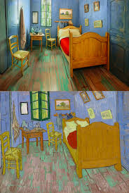 Modern Bedroom Furniture Chicago The Artwork Institute Of Chicago Recreates Van Goghs Well Known