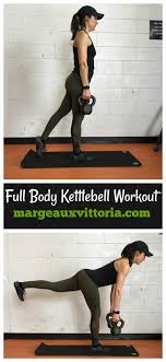 Full Body Kettlebell Workout Instructions And Free Printable
