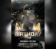 Birthday Flyers Birthday Flyer