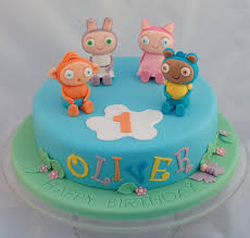 Waybuloo And Moshi Monsters Birthday Cakes Vanilla Frost Cakes