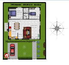 floor plan for 2bhk 1024 sft bua east facing