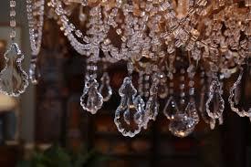 eighteen light italian antique crystal and beaded chandelier