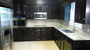 backsplash ideas for dark cabinets dark cherry cabinet with white ideas for adorable kitchen ideas with white spring granite backsplash ideas for dark