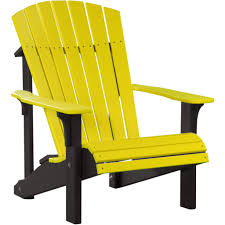 Furniture Composite Adirondack Chairs Beautiful Luxcraft Deluxe