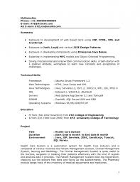... Cv Format For B Pharma Freshers Making A Resume For Job With No resume  format