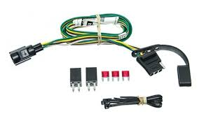 curt t connector vehicle wiring harness with 4 pole flat trailer 2006 pontiac torrent stereo wiring harness at 2006 Pontiac Torrent Wiring Harness